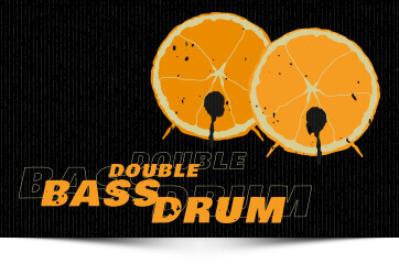 Heavy Brewtal Craftbeer Double Bassdrum White Ale