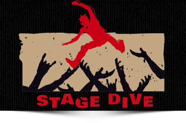 Heavy Brewtal Craftbeer Stage Dive Golden Ale